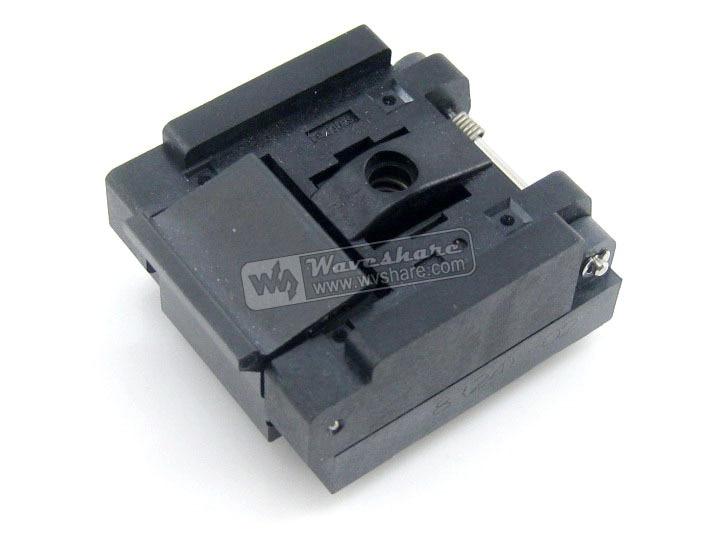 module QFN8 MLP8 MLF8 QFN-8(24)B-0.5-02 Enplas IC Test Socket Programming Adapter 0.5mm Pitch запчасти для принтера yinke sop8 dip8 2 so8 soic8 enplas ic 5 4 1 27 ic programming adapter