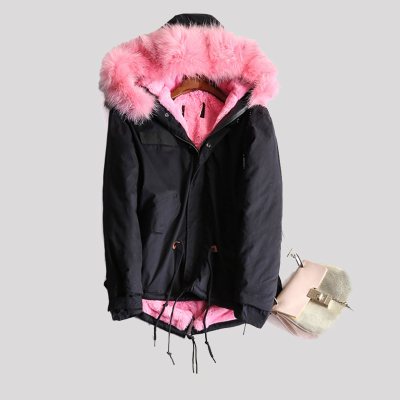 Women Winter Coat Fashion Big Real Fur Collar Hooded Short Jacket 2016 Autumn Winter Thick Down Parka New Femme Oversized Z661 2016 new winter down coat jackets women fashion slim hooded fur collar down coat 5 colors parka winter caot jacket cyrf008