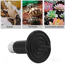 Инфракрасный Керамический Излучатель, обогреватель для домашних животных, светильник для выращивания, лампа для рептилий, тепловая лампа, нагревательный светильник для домашних животных