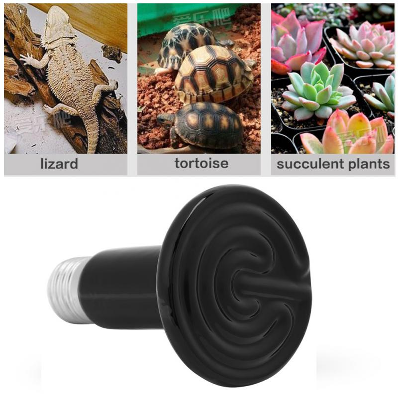 Infrared Ceramic Emitter Pet Heater Lamp Grow Light Lamp Bulb Reptile Heat Light Bulb Pet Heating Light in LED Grow Lights from Lights Lighting
