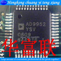 2PCS LOTCMOS Direct Digital Frequency Synthesizer AD9952YSV Straight Bracket TQFP 48 Package