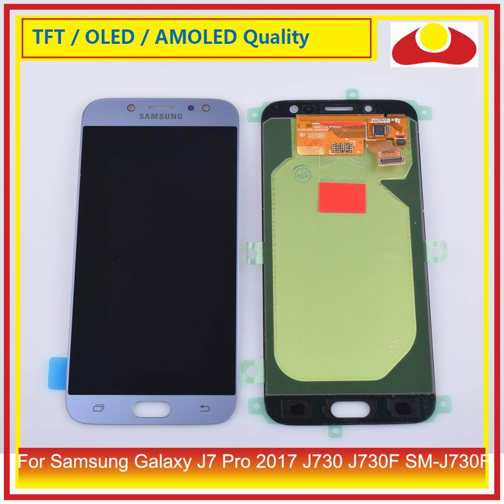 "Image 2 - ORIGINAL 5.5"" For Samsung Galaxy J7 Pro 2017 J730 J730F SM J730F LCD Display With Touch Screen Digitizer Panel Pantalla Complete-in Mobile Phone LCD Screens from Cellphones & Telecommunications"