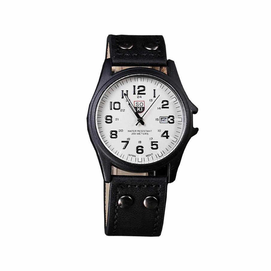 Uomini Orologio Automatico Data Sport Army Orologi Al Quarzo Wtist Vigilanza Relojes Hombre Zegarek Męski Reloj De Hombre Relógio Dos Homens