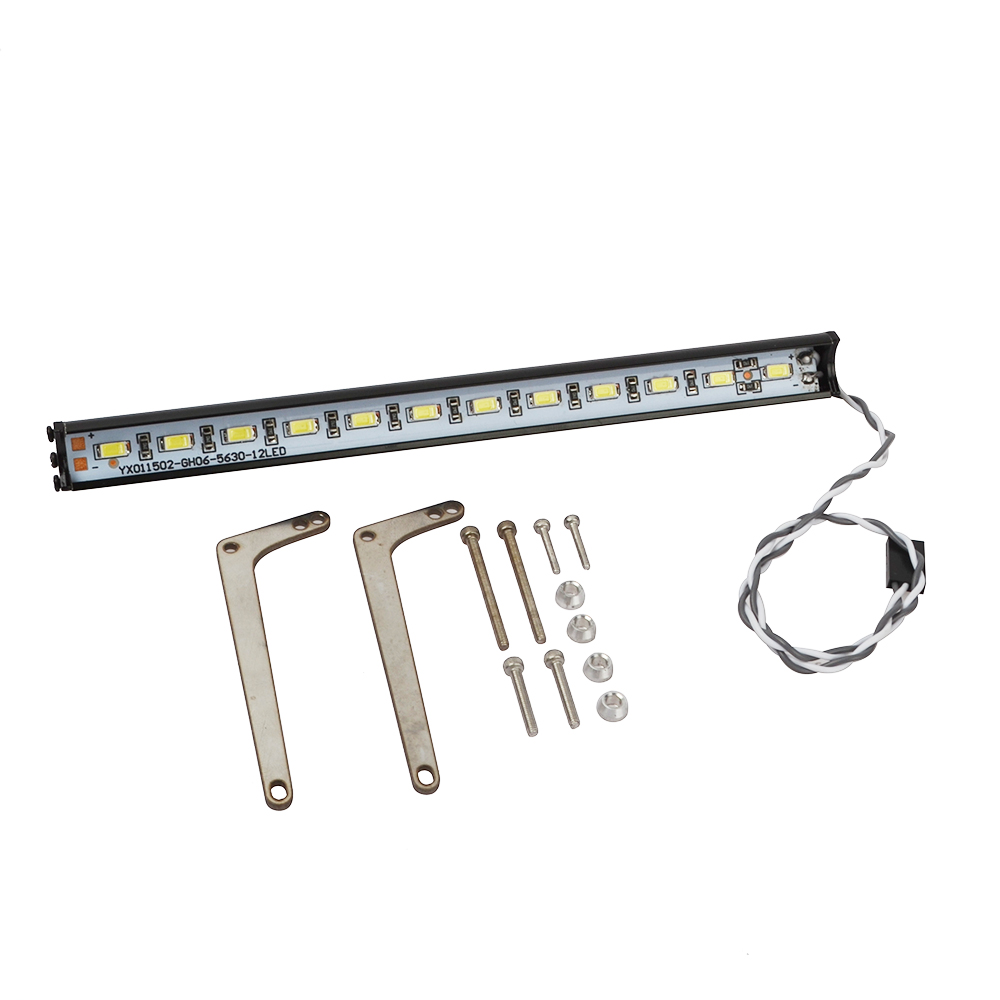 Image 4 - 1/10 RC Super Bright Metal LED Light Bar for 1/10 Crawler Traxxas Trx 4 Trx4 Upgrade Accessories-in Parts & Accessories from Toys & Hobbies