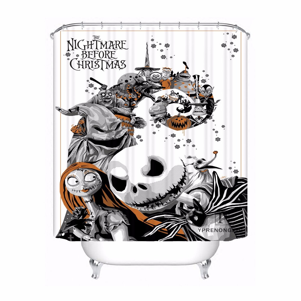 Buy Nightmare Before Christmas Fabric Shower Curtain And Get Free Shipping On AliExpress