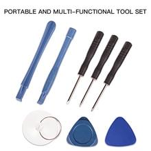 Профессиональный 8 в 1 Набор инструментов для ремонта сотовых телефонов, Набор отверток для смартфонов, набор инструментов для мобильного телефона