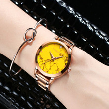 New Colorful Valentines Day Gift, Fashion, Leisure Womens Watch, Waterproof Swimming Stainless Steel 2019