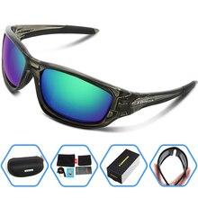 TOREGE 2017 New Men Women Polarized Sunglasses Polarised Goggles Eyewear Reduce Glare UV400 Anti-Glare Sports Glasses