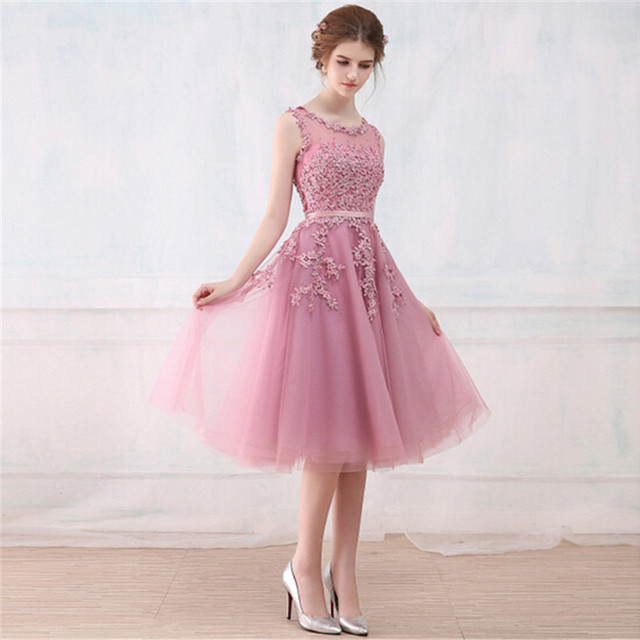 Pink Wedding Dresses For Guest