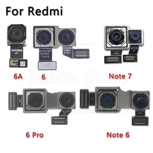 Image 1 - Oryginalna tylna kamera dla Xiao mi mi czerwony mi uwaga 6 6A 7 Pro powrót główny przewód do aparatu kabel