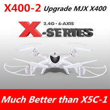 Free Shipping 2015 Hot Sell MJX 3D roll X400 drone 4CH 2.4G RC quadcopter rc helicopter 6-axis gyroscope can add HD C4002 camera