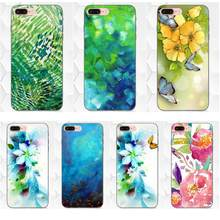 New High Quality Multi Phone Case Spring Art Green Blue Watercolor For Xiaomi Mi Mix Max Note 2 2S 3 5X 6 8 SE A1 Play F1(China)