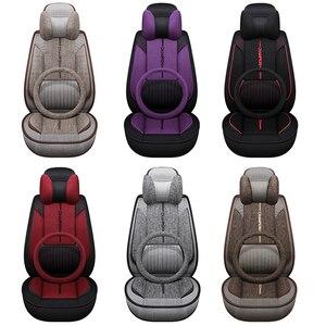 Image 5 - Kokololee kumaş araba klozet kapağı Toyota rav4 dilek Prado hilux işareti auris prius camry corolla taç chr Land Cruiser araba koltuk