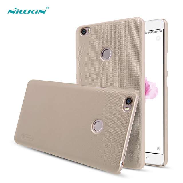 Xiaomi Mi Max Case Nillkin Frosted Shield Hard Back Cover for Xiaomi Mi Max with Screen Protector