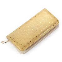 New Fashion Genuine Leather Women Wallets Female Cards Holders Beautiful Peacock Pattern Coin Purses Girls