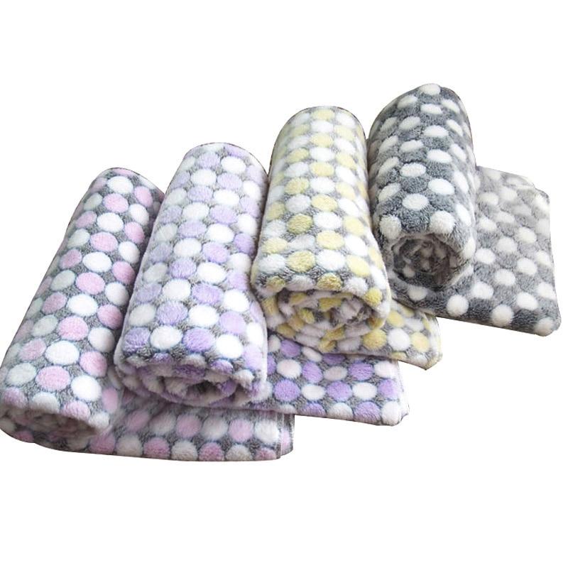3 tamaño de la manta de perro de lana suave impresión de punto de - Productos animales - foto 2