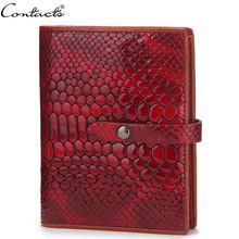 New arrival Women Wallets cowhide real Leather Red Wallet crocodile sample Clutch Purse Ms   quick Purse Lady Change Purses