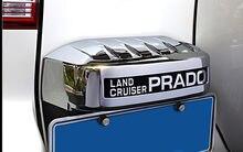 ABS хромированный задний номерной знак рамка отделка для FJ150 Prado 2010-2016