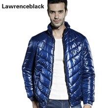 Winter Jacket Man Down Coats Solid Ultralight Down Jackets Casual Brand Down Parkas Zipper Coat Outerwear Warm Jacket Male 77