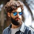 Feidu 2016 polarizado gafas de sol cuadradas hombres mujeres del diseño de marca retro medio Marco gafas de Sol De Los Hombres Gafas Gafas de Conducción Sol