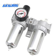 SFC-200 SFC-300 SFC-400 Air Compressor Filter Regulator Oil Water Separator Trap Valve Automatic Drain