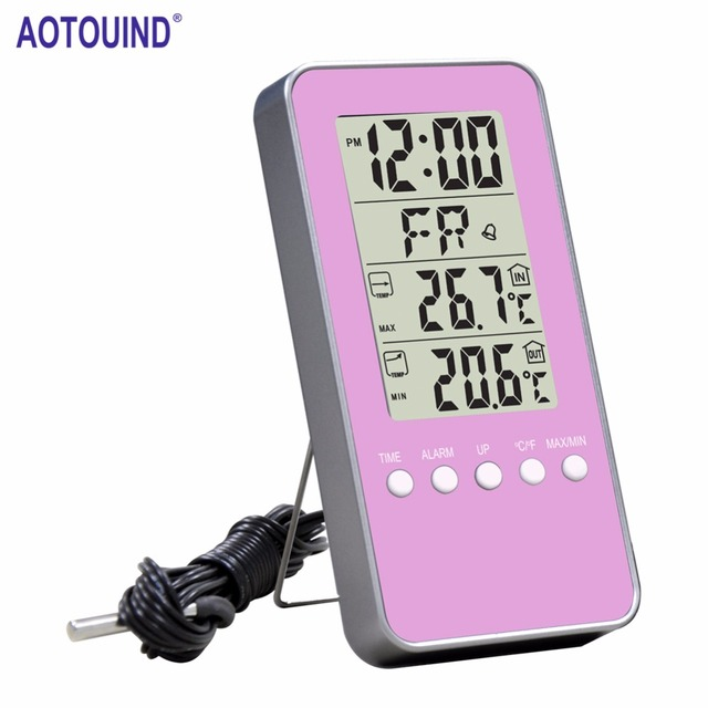 AOTOUIND OUTDOOR Indoor Temperature Accurate Thermometer Home ...