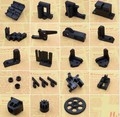 SWMAKER Prusa i3 Rework FDM Reprap Prusa I3 rework plastic printed parts kit/set M5/M8 lead rod version available