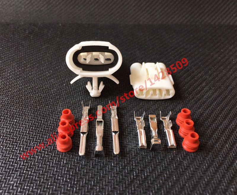 20 Set 3 Pin Sumitomo 6187 3281 6180 3261 Female And Male Wire Connector For Honda