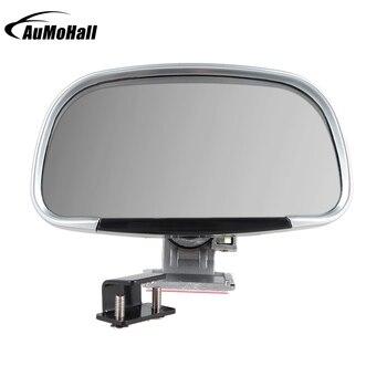 1 para samochodów boczne lusterko wsteczne pojazdu Blind Spot kwadratowe płaskie srebrne lustro szerokokątne lusterka