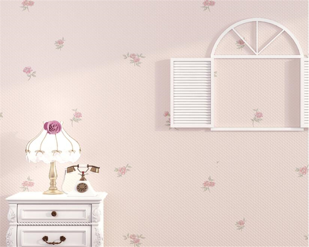 Beibehang HD 3d flower wallpaper living room TV background wall warm bedroom non-woven wallpaper papel de parede wallpaper roll beibehang wallpaper modern simple bedroom living room tv background papel de parede large flower non woven wall paper