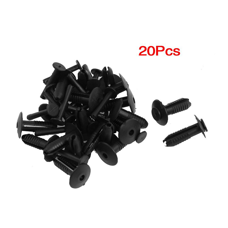 50x BMW 6mm Push Fit Plastic Rivet Clip Bumpers Interior Trim Panel Fascia