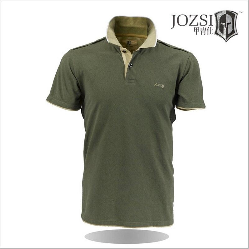 여름 남성 폴로 셔츠 통기성 빠른 건조 남성 캐주얼 짧은 소매 폴로 셔츠 브랜드 의류 JOZSI 탑 셔츠 2020