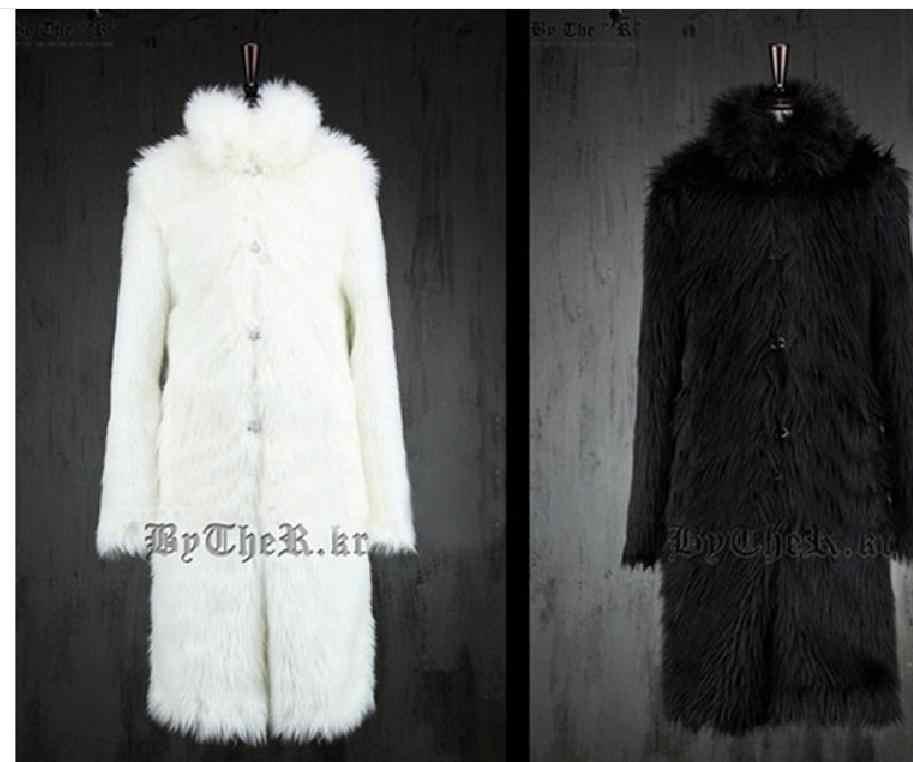 S/6Xl мужские зимние длинные пальто из лисьего меха, меховые куртки из норки, повседневные мужские пальто, большие размеры, верхняя одежда, куртки Jaqueta J1542