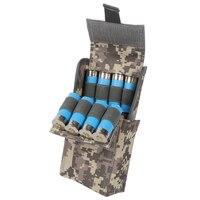 À prova dwaterproof água anti corrosão 12g pacote de balas de caça pacote cs campo portátil ao ar livre 25 buracos sacos de bala novo|bullet bag|waterproof hunting baghunting bullet -