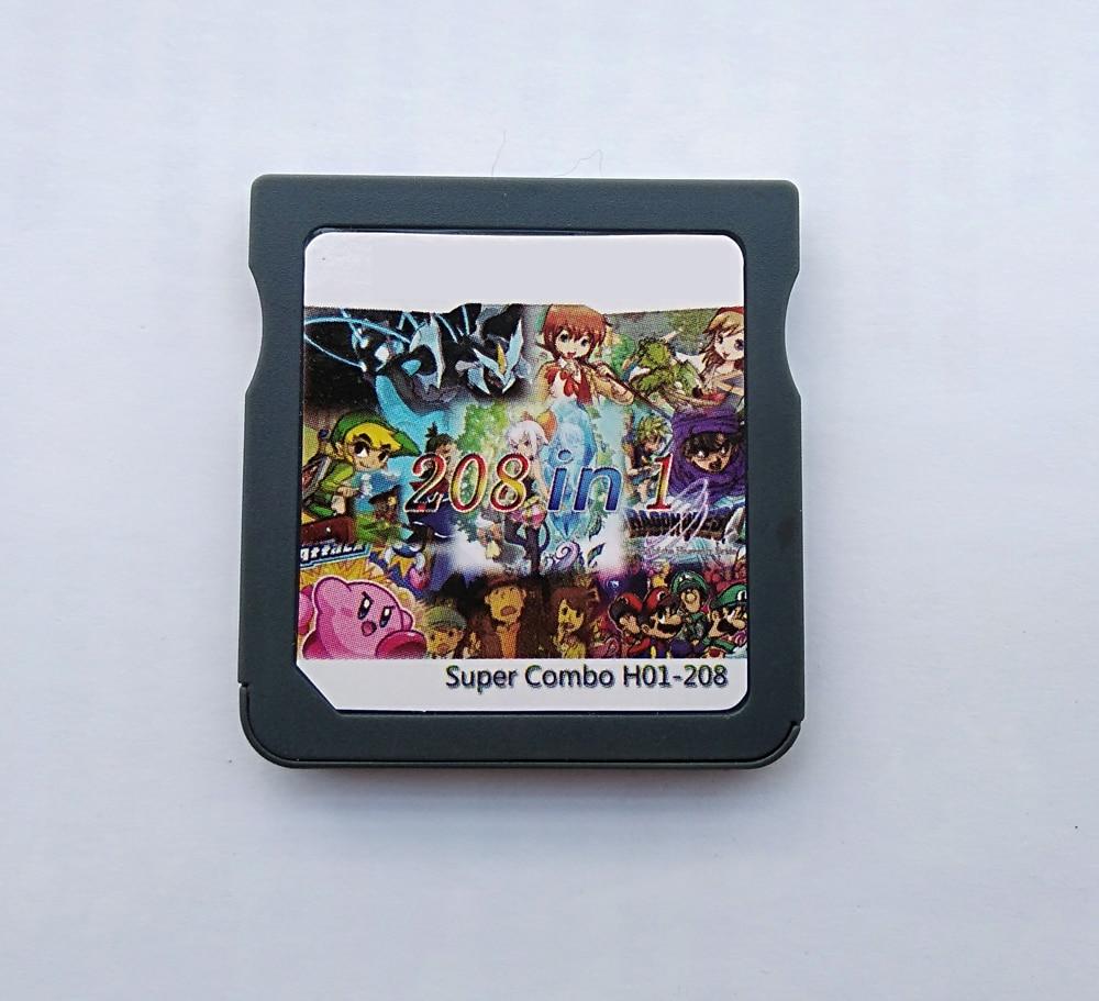 208 in 1 DS videojáték patron kártya összeállítása - Játékok és tartozékok