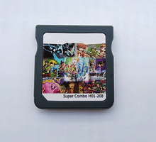 208 in 1 DS Video Game Cartridge Card Compilation 208H01