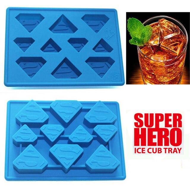 Забавные Звездные войны Супермен лоток для льда Инструменты для мороженого Замороженные эскимо льда плесень sorvete формы партия Пейте льда новые трюки Maker