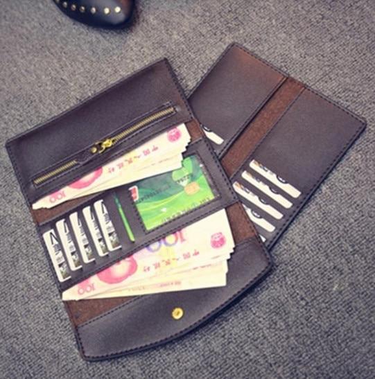 mulheres bolsa carteira feminina klatch 2 : Long Purses And Handbag 2