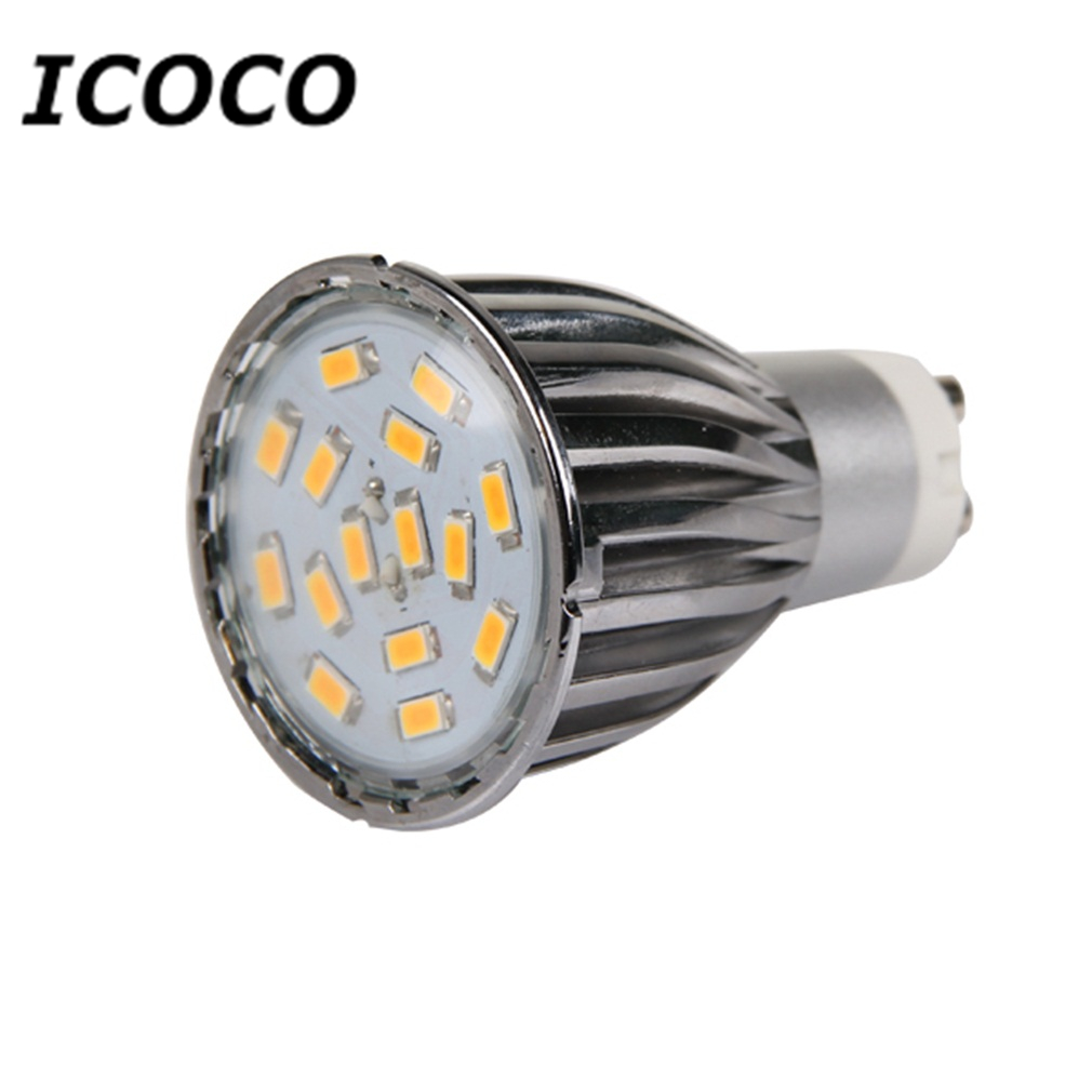 4 x GU10 15 SMD5630 6W LED Spot Light Bulbs High Quality Warm White/Day White Aluminum Shell Wholesale Flash Deal