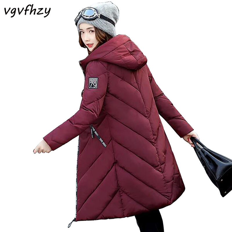 Winter Jacket Women 2017 New hooded women winter coat Fashion Female warm thick Jacket Plus Size Parkas long outerwear LU482 romantichut 2017 new long parkas female hooded thick coat down cotton winter jacket fashion warm women outerwear plus size 3xl