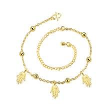 Wholesale New Fashion Women Fine Jewelry Woman Zircon Anklets Bracelet Female Foot Chain YMW-ZD090