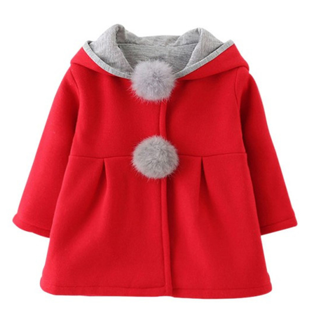 c04f37ed8c0b Aliexpress.com   Buy New Hot Autumn Winter Warm Kid Girls Coats Cute ...