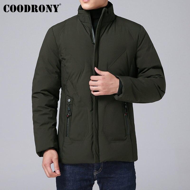 Chaud Col Vêtements Survêtement Manteau C09 Vestes Support Veste Et  Occasionnel Noir Épais vert Parka Hommes Manteaux gris 2018 D hiver Hiver  rouge Coodrony ... 64a2a068f135