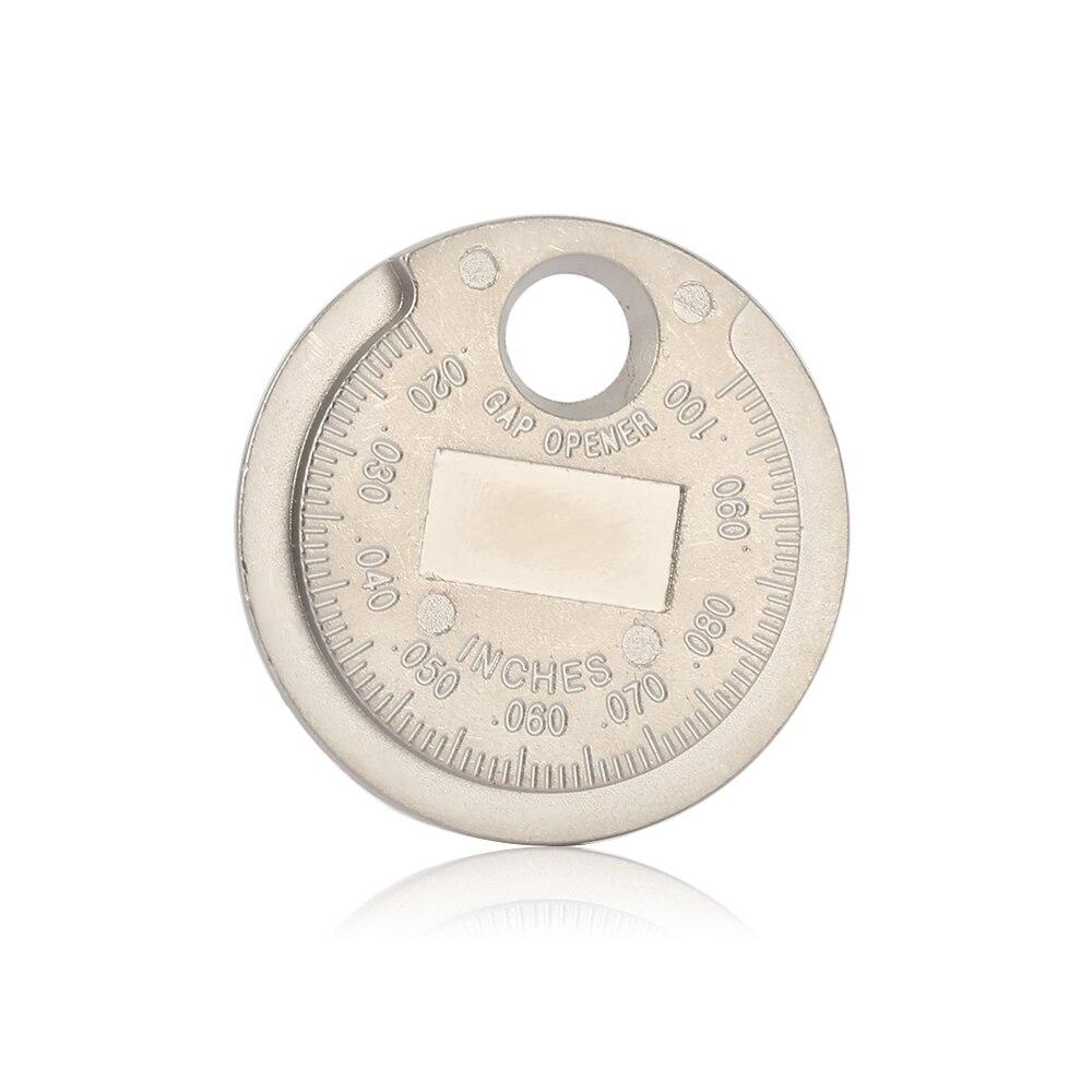1 piezas bujias de encendido bujía herramienta de calibre herramienta de medición moneda tipo 0,6 2,4mm de spark plug manómetro de herramienta Gage 4 unids lote china antorcha iridium bujías de platinoBujías y bujías incandescentes   -