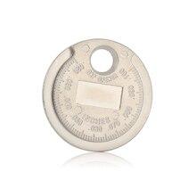 1 piezas bujias de encendido bujía herramienta de calibre herramienta de medición moneda tipo 0,6 2,4mm de spark plug manómetro de herramienta Gage 4 unids lote china antorcha iridium bujías de platino