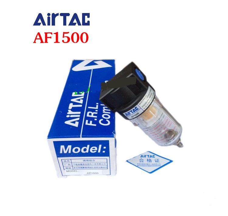 NEW original AIRTAC authentic AF1500 filter airtac new original authentic solenoid valve 4v230e 08 dc24v