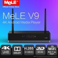 MeLE V9 Android 6 0 Mini PC TV Box 4K HDR HDMI Media Player Realtek RTD1295