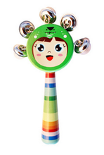 Random Color Cute Musical Handbell Developmental Baby Toy Kid Rattle Bed Bell(China)
