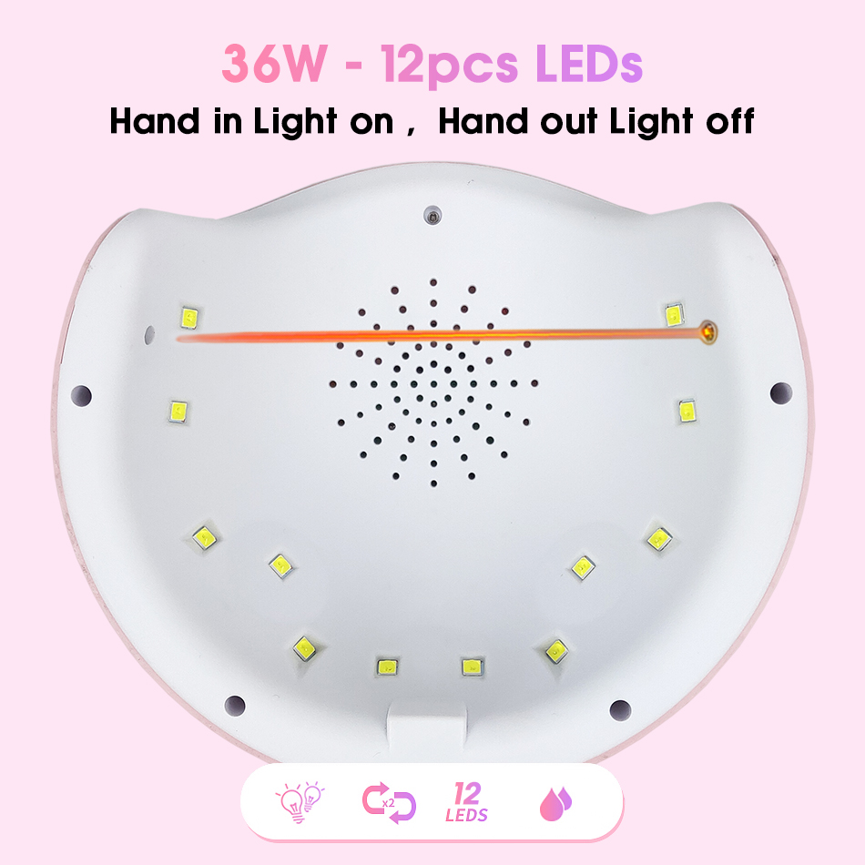 ROHWXY-Nail-Dryer-For-Nail-LED-UV-Lamp-36W-MINI-USB-Lamp-For-Manicure-LCD-Display