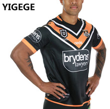 fec5d614ecd YIGEGE 2019 WESTS TIGERS home away Rugby jerseys shirt nrl Jersey Wests  Tigers Australia shirts s-3xl